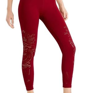 Ideology Seamless Perforated High-Rise Leggings